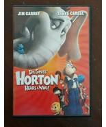 Dr. Seuss Horton Hears a Who  (DVD) - $2.25