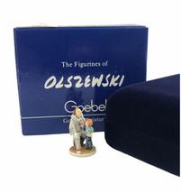 Goebel Olsewski 1986 Children's Series Clowning Around Miniature Figurine  - $32.58
