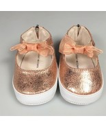 size 2 Girls baby shoes Stuart Weitzman bow baby picture outfit church s... - $25.60