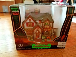 Lemax Spooky Town Halloween Party House 2004 RARE 45005 - $179.99