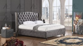 American Eagle BD062-DG Gray Cal King Size Bed ... - $999.00