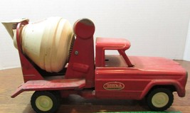 VINTAGE TONKA RED CEMENT MIXER JEEP  TRUCK - $67.32
