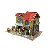 PANDA SUPERSTORE Vietnamese House Three-Dimensional House of Manual Assembly Pap