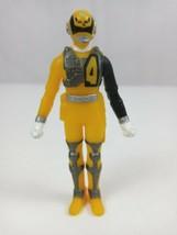 "2004 Bandai Power Rangers SPD Sound Patrol Yellow Ranger 3.5"" Vinyl  Figure - $9.74"