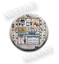 Heritage Sampler Needle Nanny cross stitch Plum Street Samplers - $12.00