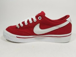 New Nike Women's All Court Canvas Sneakers Classic Shoes 305411 611 Red ... - $29.99