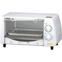 New Brentwood Appliances TS-345W 4-Slice Toaster Oven - $61.02