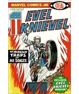 MARVEL Comics / IDEAL Evel Knievel Comic Cover Stand-Up Display - Toys D... - $16.99