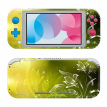 For Nintendo Switch Lite Protective Vinyl Skin Blooming Floral Design Decal  - $12.84