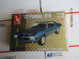 AMT 1972 Pontiac GTO 1/25 scale - $29.99