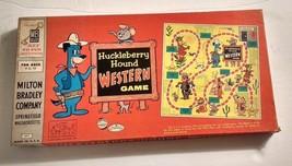 "1959 ""Huckleberry Hound Western Game"" Board Game by Milton Bradley - $75.00"