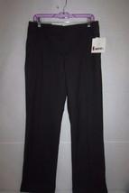 "Liz Claiborne Women's Dress Pants Jackie Size 8 Black Work Attire 32.5"" ... - $18.39"