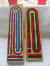Two cribbage boards Hoyle #5022 and Bicycle (Taiwan), no boxes - $15.00