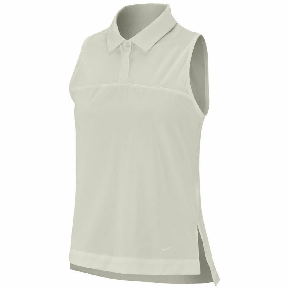 Primary image for New Nike Women's Flex Sleeveless Polo Ivory Sail Size XL Extra Large