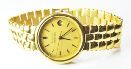 Portfolio Tiffany & Co 18k GEP Quartz Date Wristwatch 32mm Case - $197.99