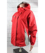 Columbia womens jacket hoodie packable portswear company raining red size S - $28.60