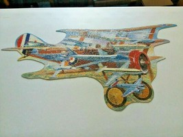 """""""Famous Flying Machines"""" Great American Puzzle Factory 650 Pc PUZZLE-COMPLETE - $16.95"""