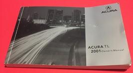 Factory OEM Dealer 2001 Honda Acura 3.2 TL Owners Manual Part 00X31-S0K-6200 - $10.99