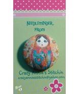 Matryoshka #5 Needleminder fabric cross stitch ... - $7.00