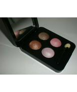 Vincent Longo Diamante Eyeshadow Quad Compact #07076 ROJA Pink & Brown L... - $28.04