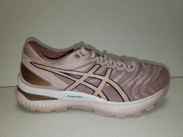 Asics 1012A587 GEL-NIMBUS 22  Rose Gold Women Size 8.5 Runni Shoes NWB - $79.19