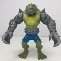 """2012 Mattel DC Comics Armored Killer Croc Villains Takedown 6.5"""" Action ... - $14.99"""