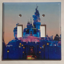 Hong Kong Disney princess castle Light Switch Outlet wall Cover Plate Home Decor image 2
