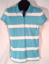 AEROPOSTALE WOMEN'S XL BLUE AND WHITE STRIPED SHIRT (H) - $7.75