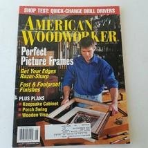 American Woodworker Magazine June 1998 #66 - $11.51