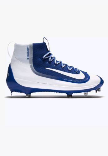 ef9dec5454043 12. 12. Nike Men Huarache 2k Filth Mid Metal Elite Blue Baseball Cleats 749359  411 sz 11. Free Shipping