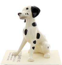 Hagen-Renaker Miniature Ceramic Dog Figurine Dalmatian Sitting image 4