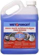 Wet & Forget Moss Mold Mildew Algae Stain Remover Gentle Bleach Free Non... - $28.34