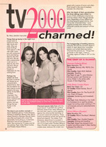 Alyssa Milano Shannen Doherty Holly Marie Combs teen magazine pinup clipping tv