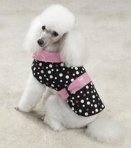 East Side Collection Rain or Shine Reversible Dog Coat Jacket Pink XXS X... - $6.95+