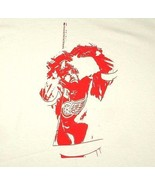Detroit Red Wings Henrik Zetterberg White T Shirt NHL Sz XL Extra Large - $22.99