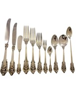 Grande Baroque by Wallace Sterling Silver Flatware Service 12 Set 145 pcs Dinner - $9,540.00
