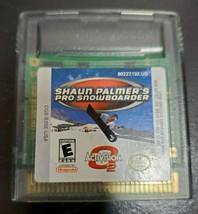 Activision O2 Shaun Palmer's Pro Snowboarder Game Boy Color & Game Boy A... - $6.58