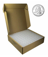 Quarter Square Coin Tubes by Guardhouse, 24.5mm, 100 pack - $52.98