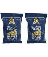 Buc-ees Sea Salted Caramel Beaver Nuggets, Gluten Free, Two 3 Ounce Bags... - $13.71