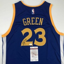 Autographed/Signed DRAYMOND GREEN Golden State Blue Basketball Jersey JS... - €290,87 EUR