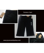 Dockers Black Capris Women's Sz 16 - $14.99