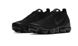 "Nike Air Vapormax Flyknit 3 - ""Triple Black"" Black - $230.00"