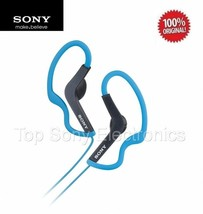 Sony MDRAS200 BLUE Active Sport In-Ear Headphones / Earbuds - WATER RESI... - $19.99