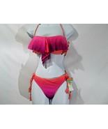 Raisins Pink Flounce Bra & Sweet Pea Pants Bottoms Size M - $25.51