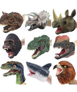 Simulation Dinosaur Animal Head Model Hand Puppet Party Toy Doll Gloves ... - $21.00