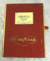 Vintage Advertising Good Year Dual Deck  By Congress  Playing Cards image 4