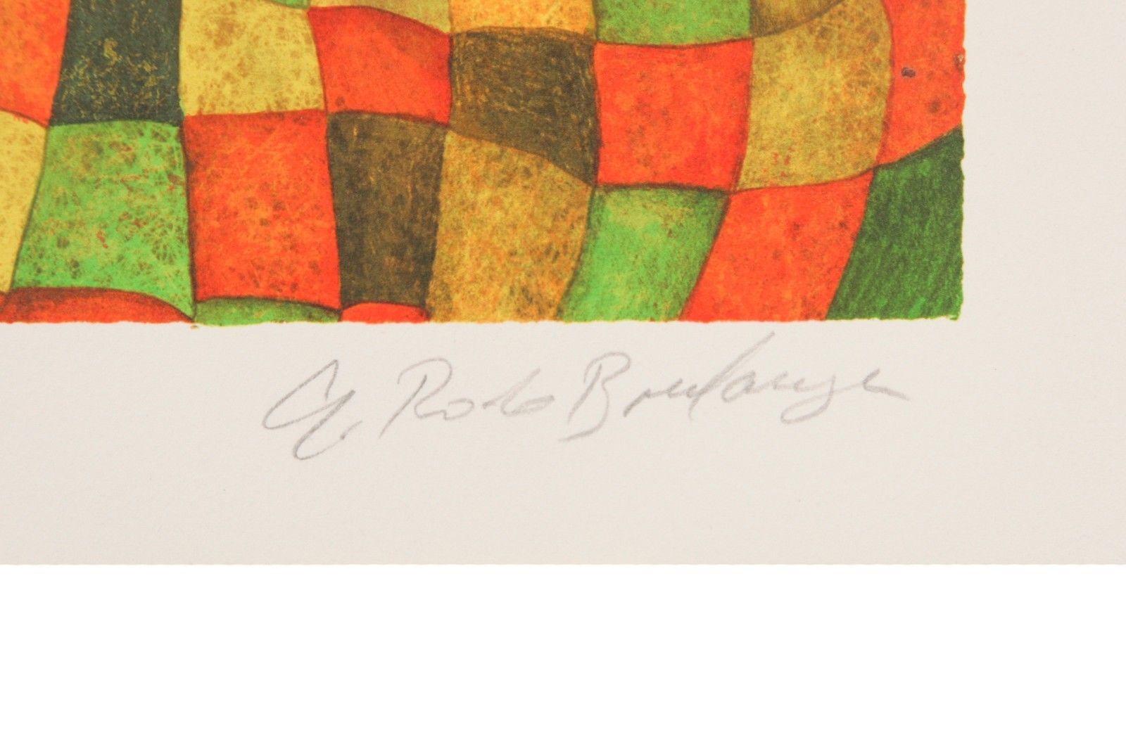 """"""" Amour,Tendresse """" von Graciela Rodo Boulanger Lithographie auf dem Papier Le image 3"""