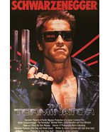 THE TERMINATOR SIGNED MOVIE POSTER - $210.00