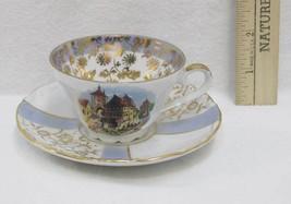 Miniature Demitasse Cup & Saucer Rothenberg od Tauber Picture Schumann V... - $9.89