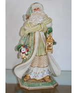 Fitz and Floyd Santa Claus Figurine Gregorian Signature Collection - $410.00